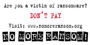 Projekt NoMoreRansom obchodzi 3. urodziny