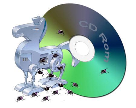 Ataki socjotechniczne z użyciem płyt CD